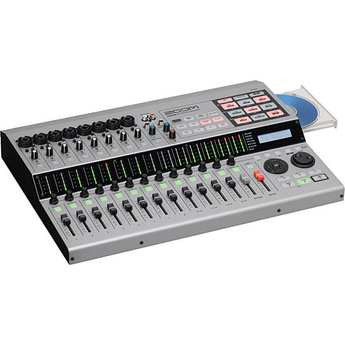 Zoom HD16CD - 16-Track Recorder/Control Surface w/ Hard Drive & CD Burner