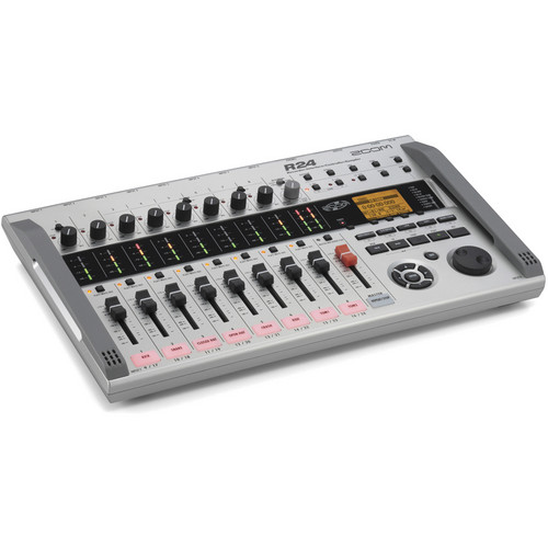 Zoom R24 Multi-Track Recorder, Interface, Controller, and Sampler