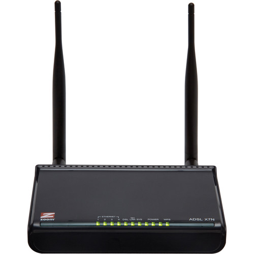 Zoom Telephonics X7N ADSL Wireless-N Modem/Router