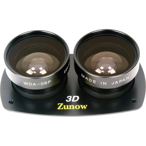 Zunow WDA-06P Kit 3D Wide Angle Conversion Lens