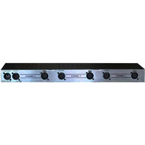 A-Designs 3-Slot 500 Series Power Rack (1 RU)
