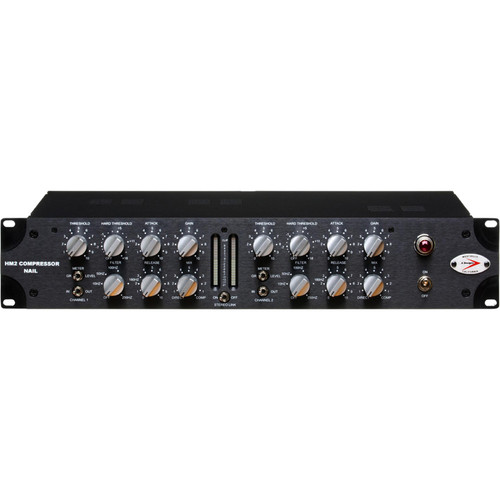 A-Designs HM2 Nail Dual-Channel Compressor/Limiter - Solid State/Tube Hybrid