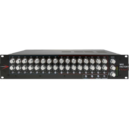 A-Designs Mix Factory 16-Channel Stereo Summing Mixer