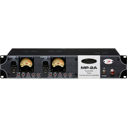 A-Designs MP-2A Stereo Tube Microphone Preamplifier and DI
