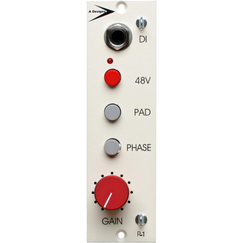 A-Designs P-1 500 Series Solid-State Microphone Preamplifier and DI