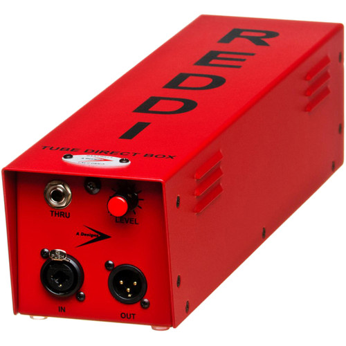 A-Designs REDDI Mono All-Tube Direct Box with Throughput
