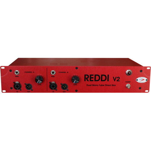 A-Designs REDDI V2 Dual Mono Tube Direct Box