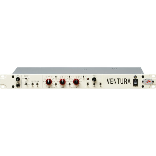 A-Designs VENTURA Solid-State Microphone Preamplifier and 3-Band EQ