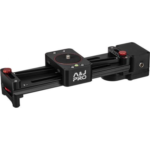 A&J PRO Mini Camera Parallax Slider (Motorized,11 lb Payload)