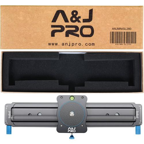 "A&J PRO Mini Camera Parallax Slider (7.5"" Sliding Distance)"