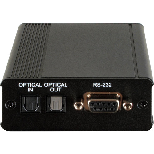 A-Neuvideo Optical Audio over Single Cat5e/6/7 Receiver (492')