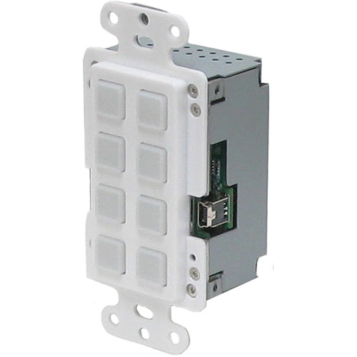 A-Neuvideo 8-Button IP Wall Plate Control Keypad