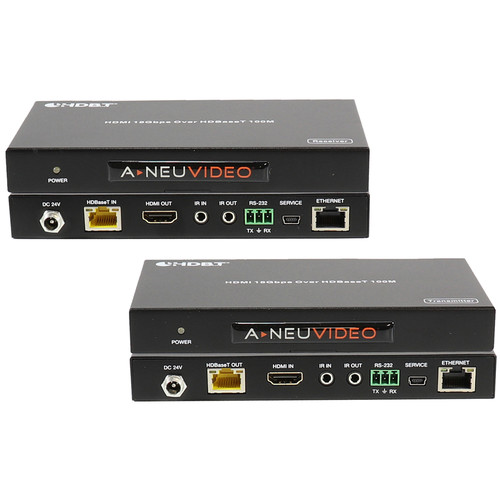 A-Neuvideo ANI-HDR100 4K HDMI HDR Transmitter/Receiver over Category Cable (328')