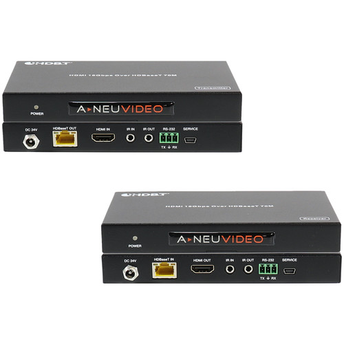 A-Neuvideo ANI-HDR70 4K HDMI HDR Transmitter/Receiver over Category Cable (230')