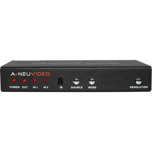 A-Neuvideo 2x1 HDMI Multi-Viewer with PIP