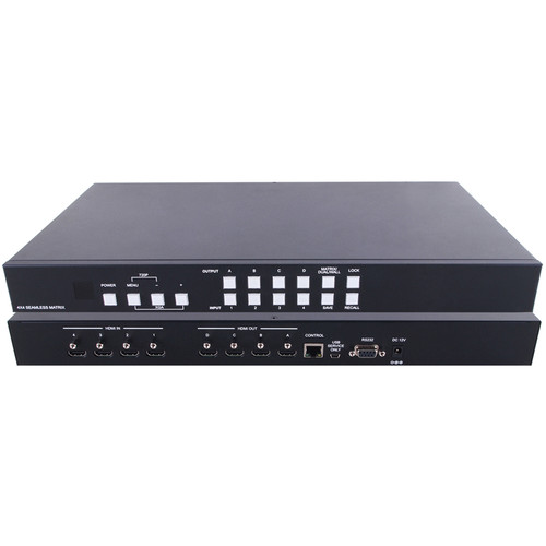 A-Neuvideo 4x4 HDMI Video Wall Processor & Seamless Matrix Switcher