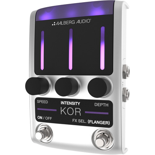 Aalberg KOR KO-1 Chorus/Flanger Pedal with Wireless Control