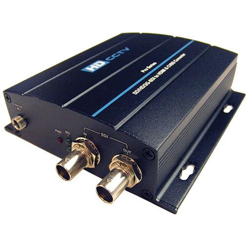 AAS 3G/HD/SD-SDI to HDMI & CVBS Converter Pro Series