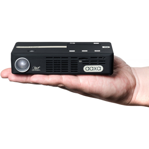 AAXA Technologies P4-X Android 175-Lumens WVGA DLP Pico Projector with Wi-Fi