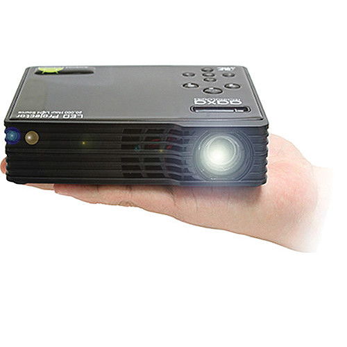 AAXA Technologies LED Android Pico Projector (Black)