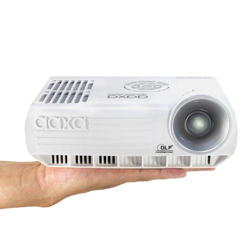 Aaxa technologies m4 800 lumen wxga pico projector mp 400 for Pico projector ipad