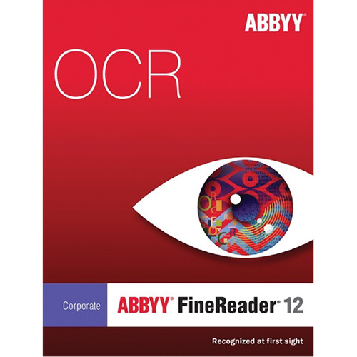 ABBYY FineReader 12 Corporate with Quad-Core Support (Single User License, Download)