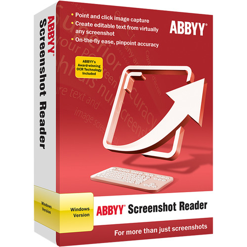 ABBYY Screenshot Reader 11 (Download)