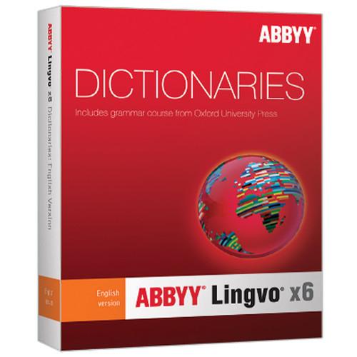 ABBYY Lingvo x6 English-Russian Dictionary (Upgrade)