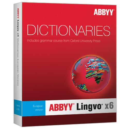 ABBYY Lingvo x6 EuropeanRussian Dictionary