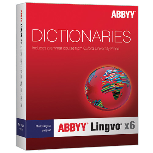 ABBYY Lingvo x6 Multilingual Russian Dictionary (Upgrade)