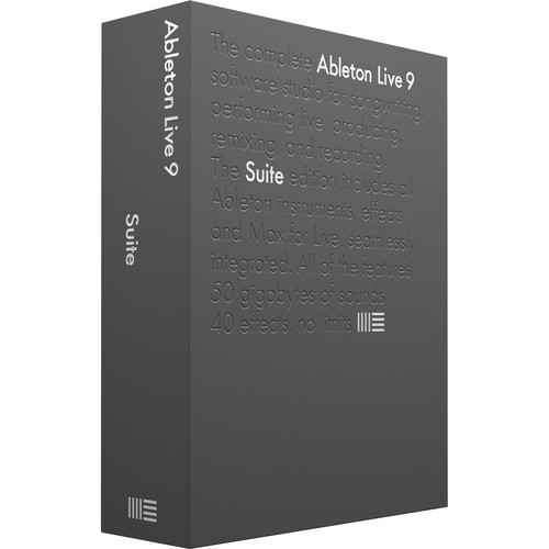 Ableton Live 9 Suite Upgrade - Music Production Software (Boxed)