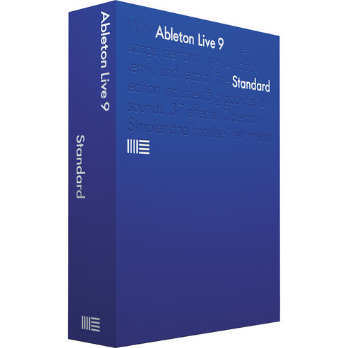 Ableton Live 9 Standard - Music Production Software (Boxed)