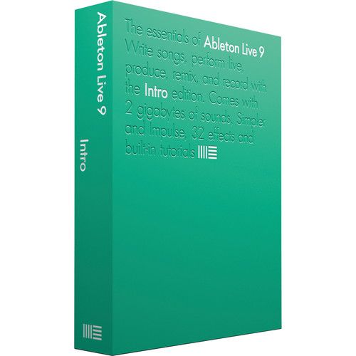 Ableton Live 9 Intro - Music Production Software (Download)