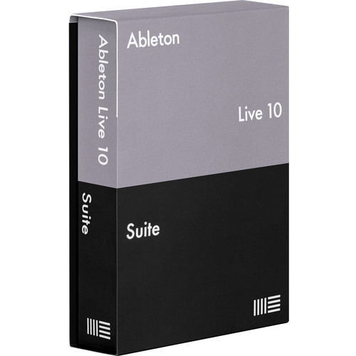 Ableton Live 10 Suite - Music Production Software (Boxed)