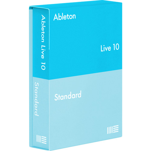 Ableton Live 10 Standard - Music Production Software (Educational Institution 5+ Site Licenses, Download)