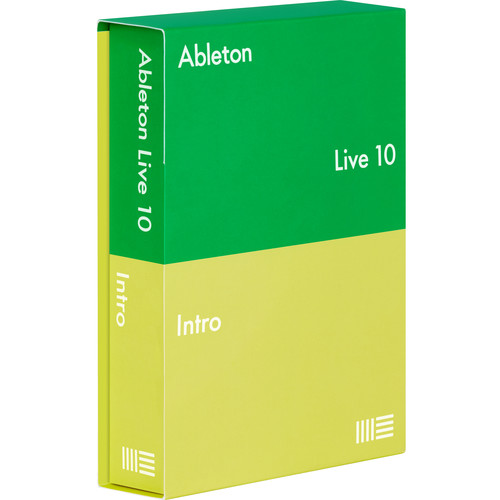 Ableton Live 10 Intro - Music Production Software (Educational Institution License, Download)