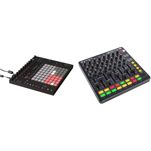 Ableton Ableton Push 2 Kit with Novation Launch Control XL