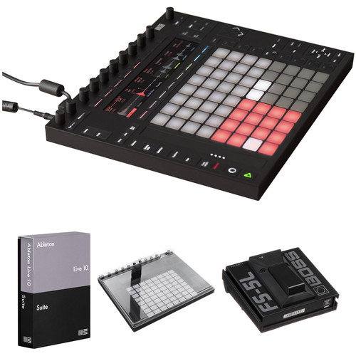 Ableton Push 2 Controller Kit with Live 10.1 Suite and Decksaver