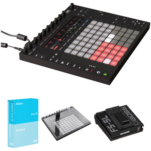 Ableton Push 2 Controller Kit with Live 10.1 Standard and Decksaver