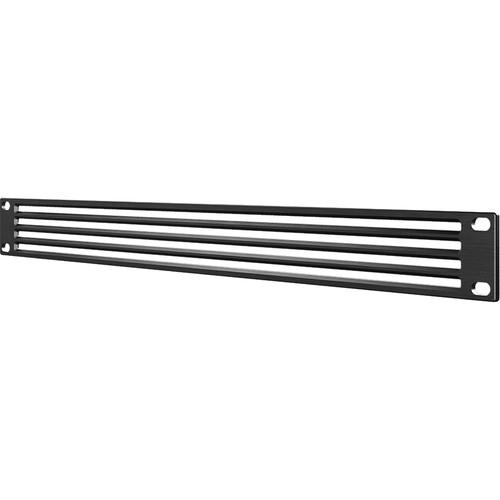 AC Infinity Anodized Aluminium Vented Rack Panel (1 RU)