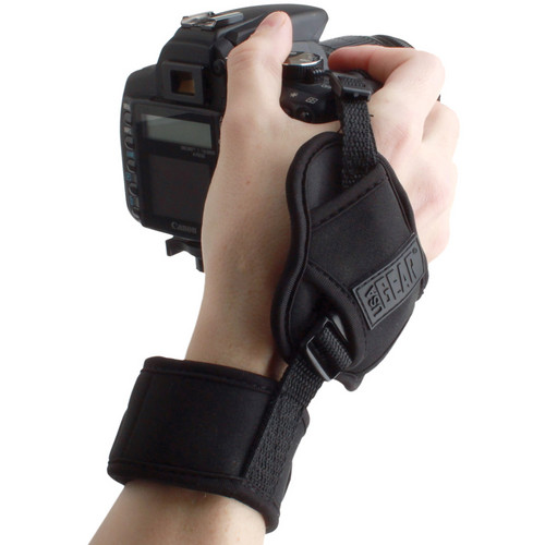 Accessory Power Professional Series USA Gear Dual Grip Hand Support and Wrist Strap
