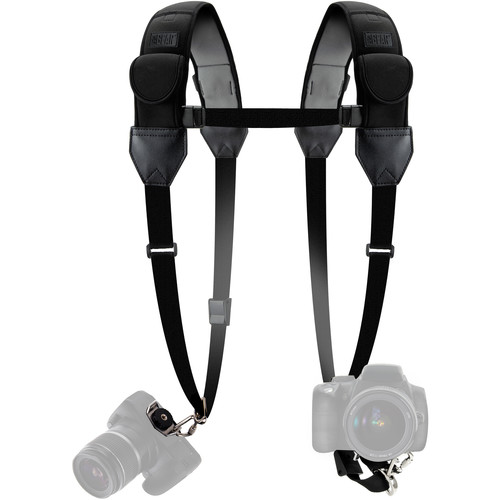 USA GEAR USA Gear True Shot Double Sling Strap (Black)