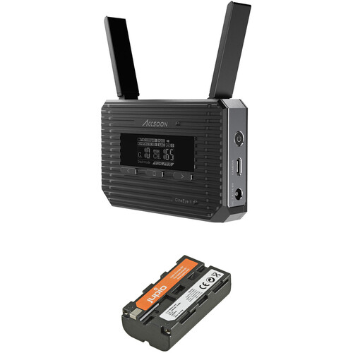 Accsoon CineEye 2 Wireless Video Transmitter & Jupio L-Series Battery Kit