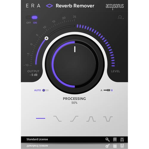 Accusonus ERA 4 Reverb Remover - Automatic Audio-Repair Plug-In (Download)