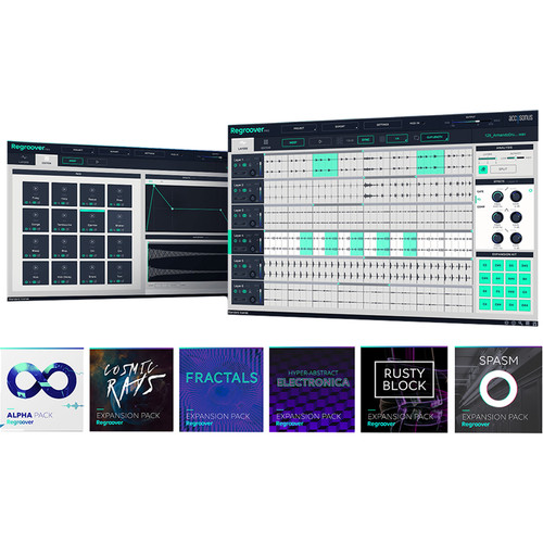 Accusonus Regroover Pro with 6 Expansion Packs and Beatformer Beat-Making Plug-In Bundle (Download)