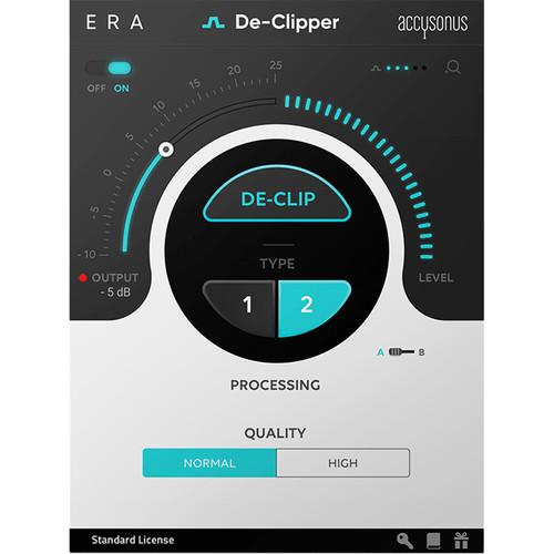 Accusonus ERA 4 De-Clipper Software to Reduce Clipping Distortion (Download)