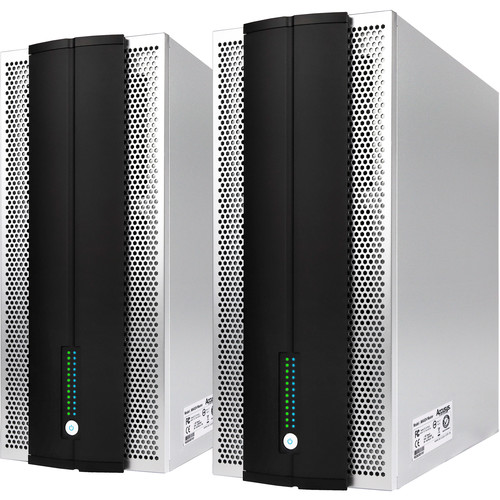 "Accusys 24-Bay SAS/SATA 12GB 2.5""/3.5"" Drive, Tower Raid System (Master and Slave)"