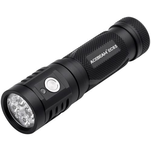 ACEBEAM EC65 LED Rechargeable Flashlight (Nichia 90+ CRI LED Version)