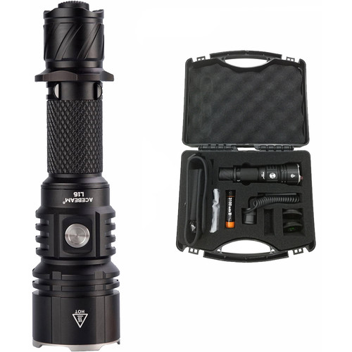 Acebeam L16 Rechargeable LED Flashlight Hunting Kit
