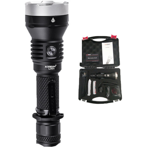 Acebeam L30 GEN II Rechargeable LED Flashlight Hunting Kit